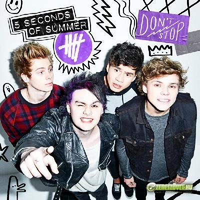5 seconds of summer -  Don't Stop (Maxi)