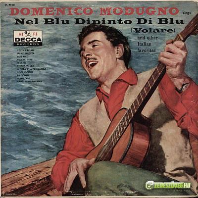 Domenico Modugno -  Sings nel blu dipinto di blu (Volare)