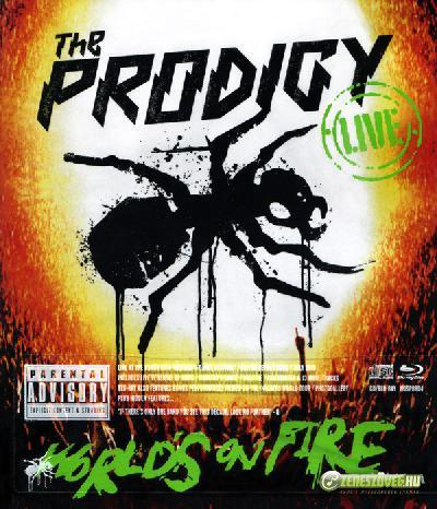 The Prodigy -  World's on Fire (Live CD + Blu-ray)