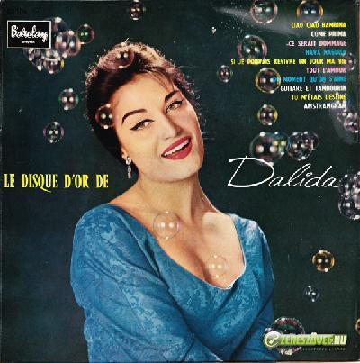 Dalida -  Le disque d'or de Dalida